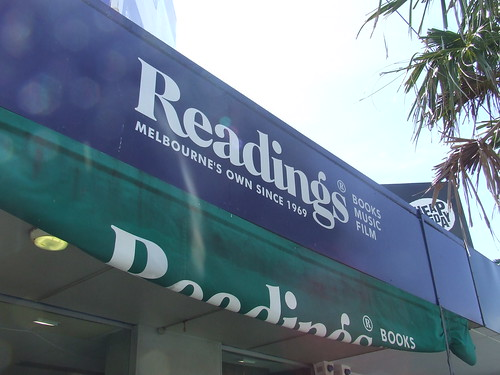 Readings Books, Acland St, St Kilda, Melbourne, Australia 091207-12