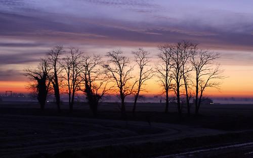sunrise dawn sunup daybreak