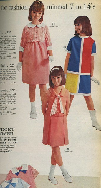 1966 Spiegel catalog girl's dresses