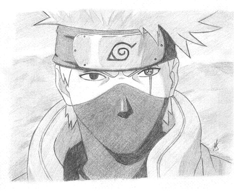 Gallery For gt Drawings Of Kakashi