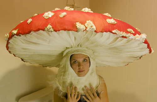 mushroom costume by Machine Project