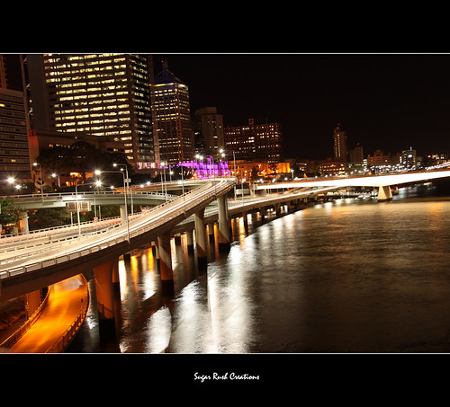 from the Kurilpa Bridge