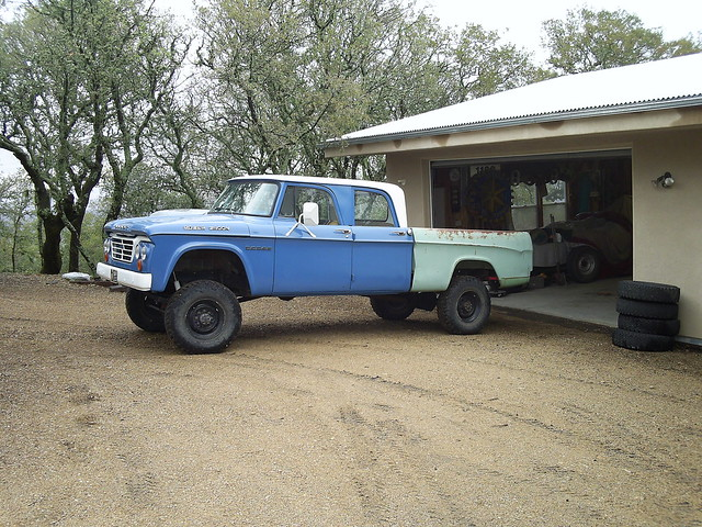 1965 W200 Dodge Power Wagon Crew Cab | Flickr - Photo Sharing!