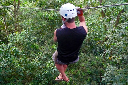 Zip Line Tours at Blue Osa