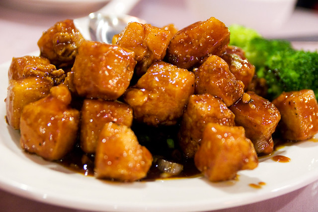 General Tso's tofu | Flickr - Photo Sharing!