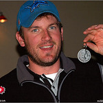 Mike Randolph takes 1st Place Open Men at the 2005 Ice Bowl, West Arvada Course.