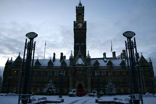 Bradford in the Snow