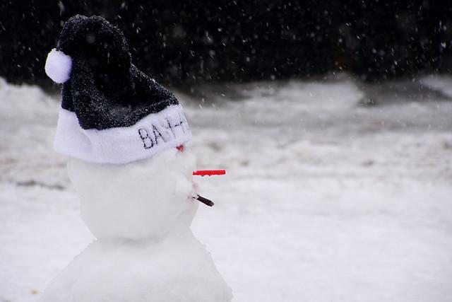 Wheatsheaf Snowman
