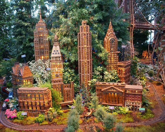 2009 Holiday Train Show, The New York Botanical Garden