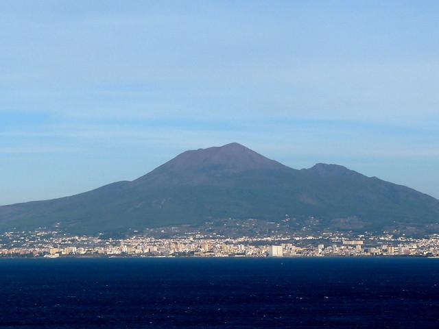 Monte Vesuvio, Golfo di Napoli