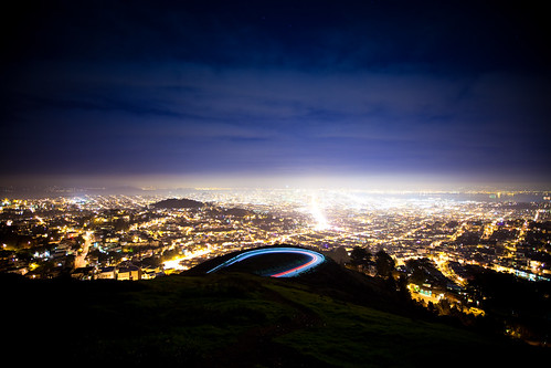 Twin Peaks and San Francisco