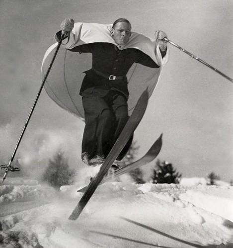 Ski-zeilen / Ski-sailing