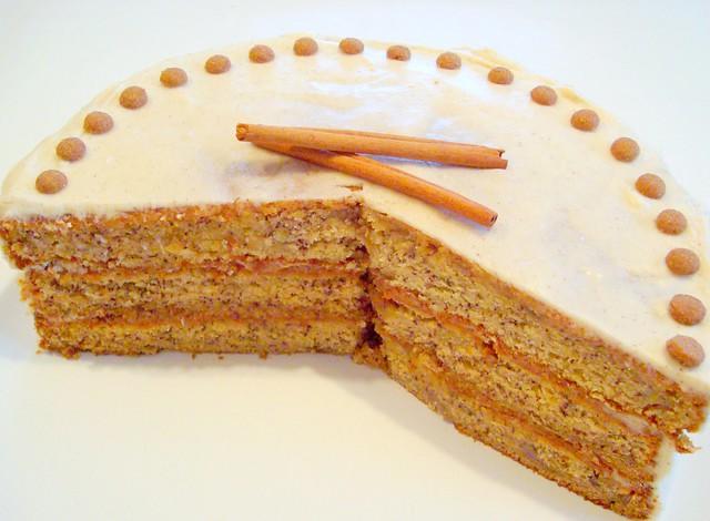 Banana Cake with Honey - Cinnamon Frosting | Flickr - Photo Sharing!