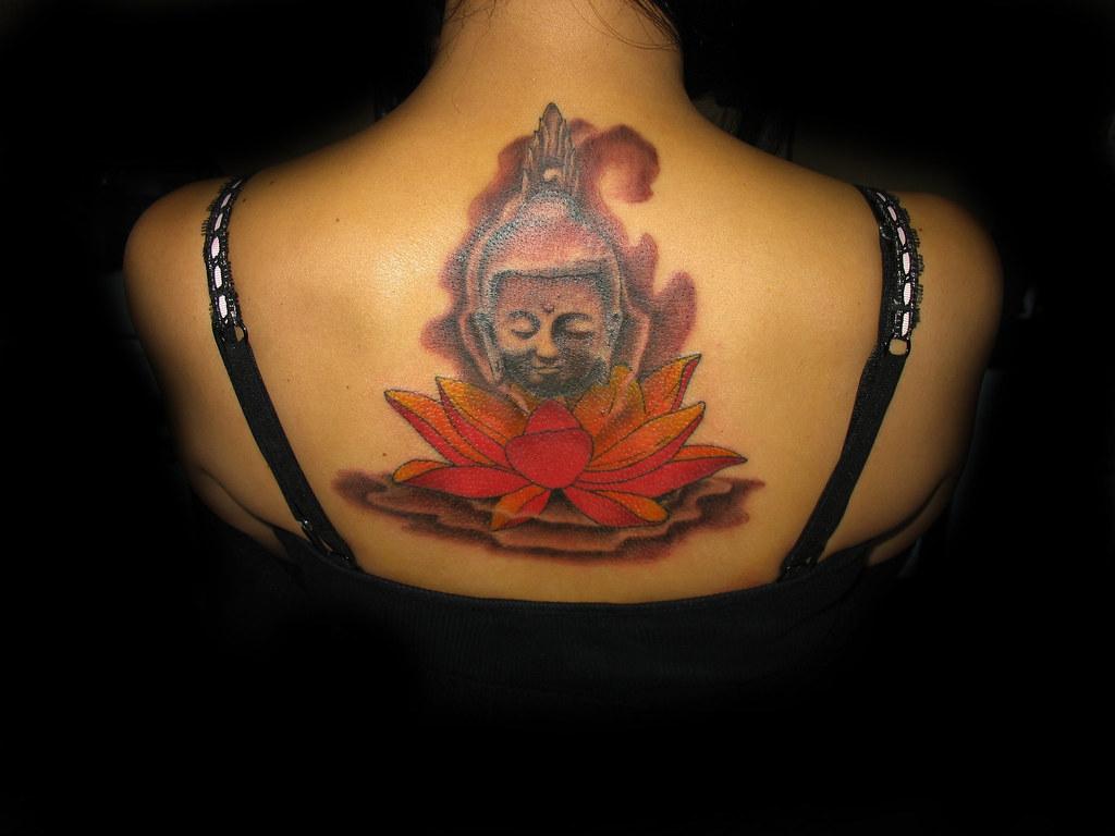 Buddha Head Tattoo Lotus Tattoo Thai Buddha Tattoo Buddha Head