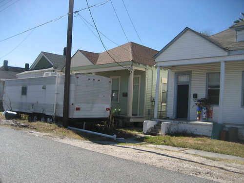 Harvey FEMA Trailer NOs 2nd St
