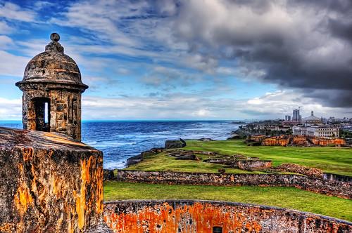 ocean cruise sky clouds photoshop nikon oldsanjuan puertorico hdr isladelencanto cs4 d90 photomatix easterncarribean castillosancristobal nikkor18105vr