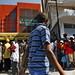 Haitians Wait Outside Re-Opened Wire Transfer Office