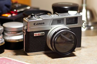 Canonet QL-17 GIII, January, 2010