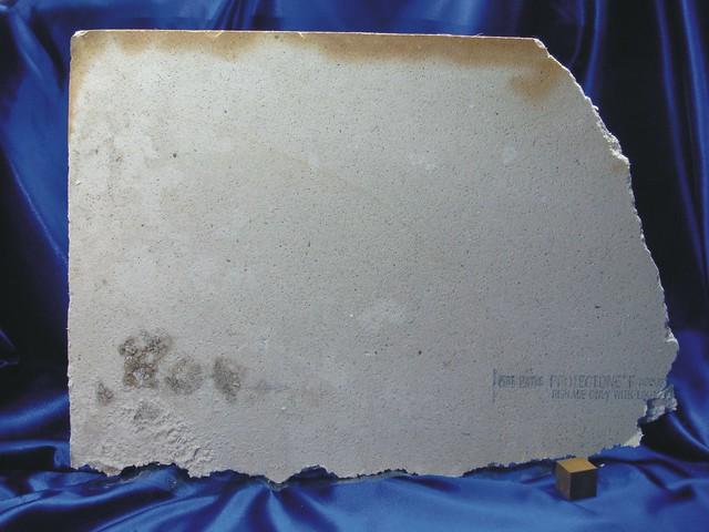 Asbestos Ceiling Panel Reverse Flickr Photo Sharing