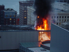 Fire in Municipal Building, 2003