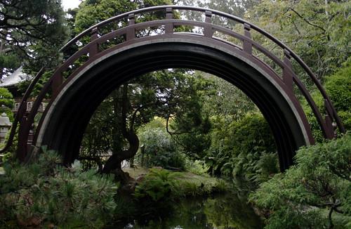 San Francisco Japanese Tea Garden - Drum Bridge
