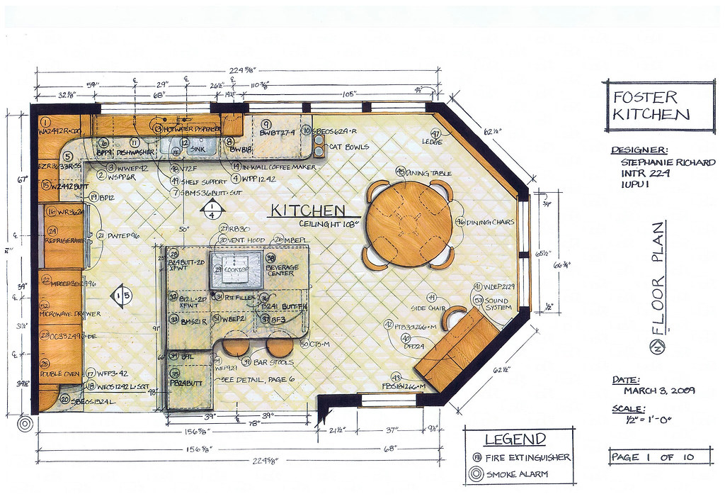Foster Kitchen Design Floor Plan Intr 224 Residential Kit Flickr