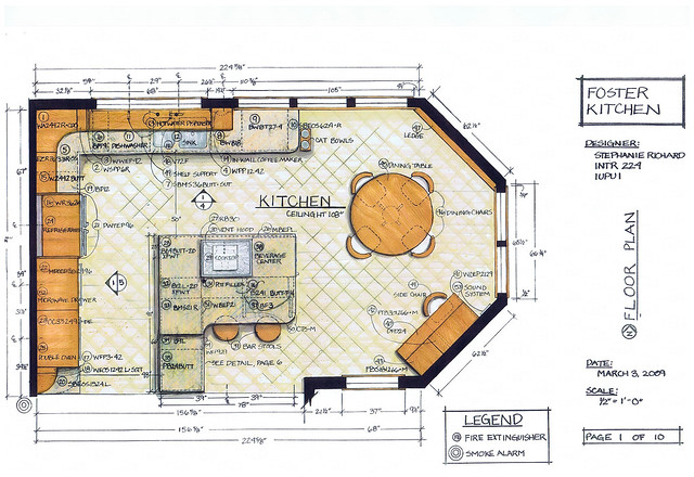 4371919102 1f807d13f9 Kitchen floor plan design tool
