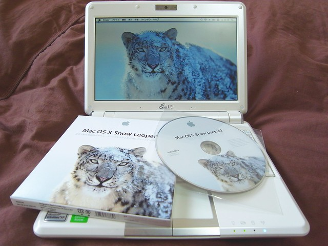 EeePC 901-X on SNOW Leopard