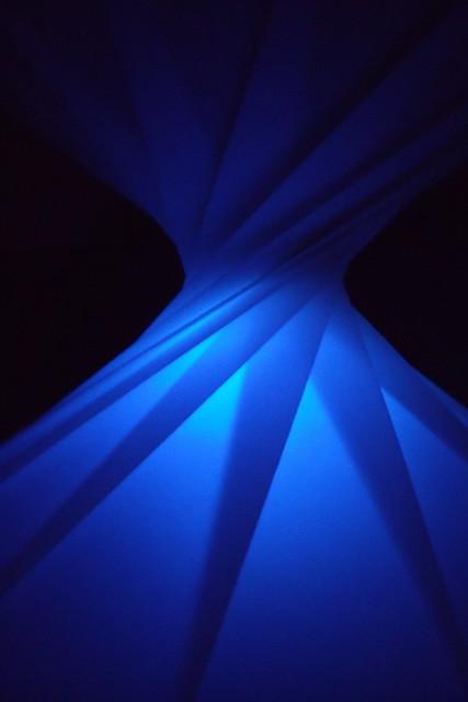 Blue origami spiral   Flickr - Photo Sharing!