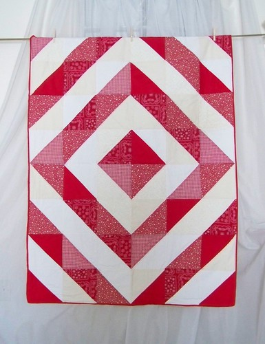 A bit more traditional - Red & White Barnraising