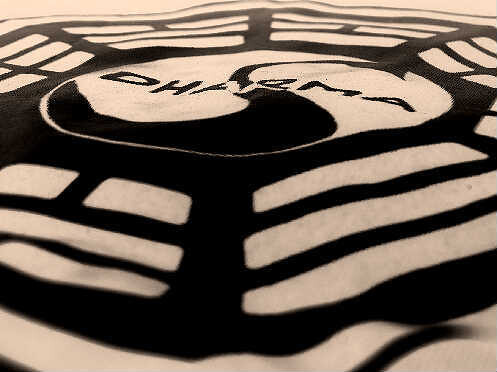 Logo camiseta Dharma Cisne
