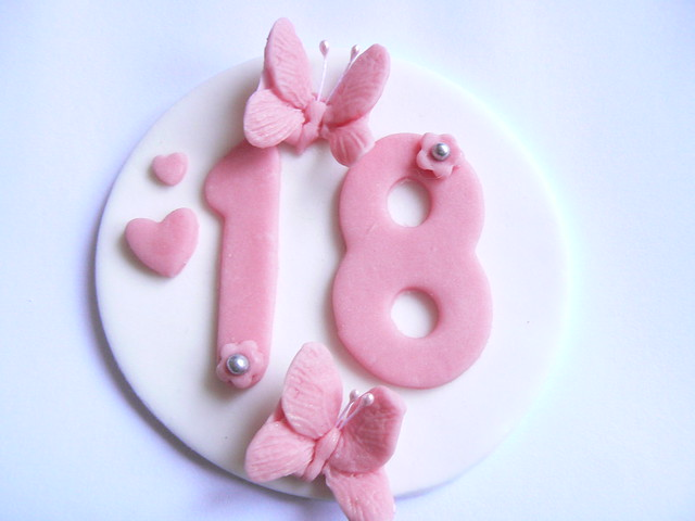 18th birthday butterfly cake topper  Flickr - Photo Sharing!