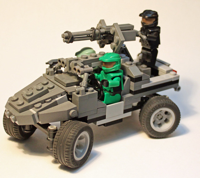 Warthogs a gallery on flickr - Lego spartan halo ...