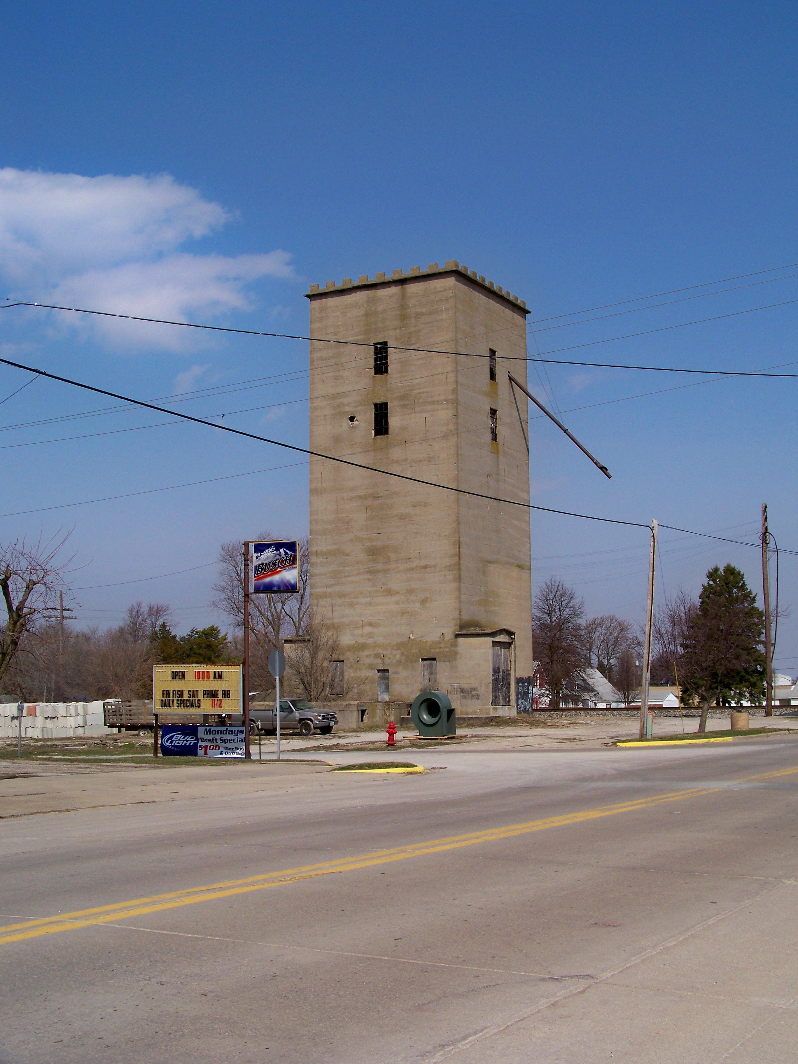 Illinois vermilion county muncie - County Illinois Elevator Grain Fairmount Vermilion
