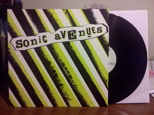 Sonic Avenues - S/T LP by factportugal