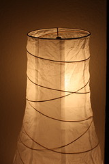 lamp, light fixture, lampshade, circle, lighting,