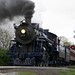 Steam engine crossing