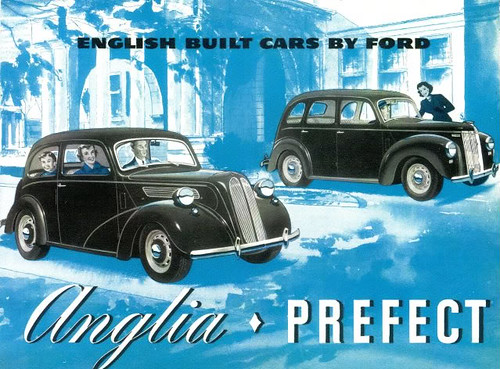 1950 Ford Anglia & Prefect (Canada) | by IFHP97