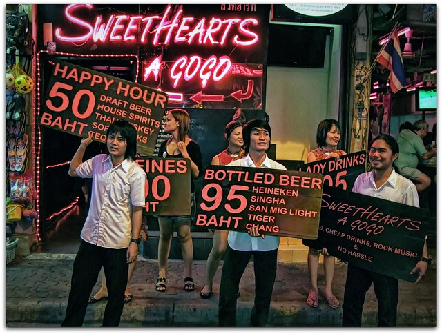 Sweet Hearts A Go-Go | Pattaya Walking Street | Thailand