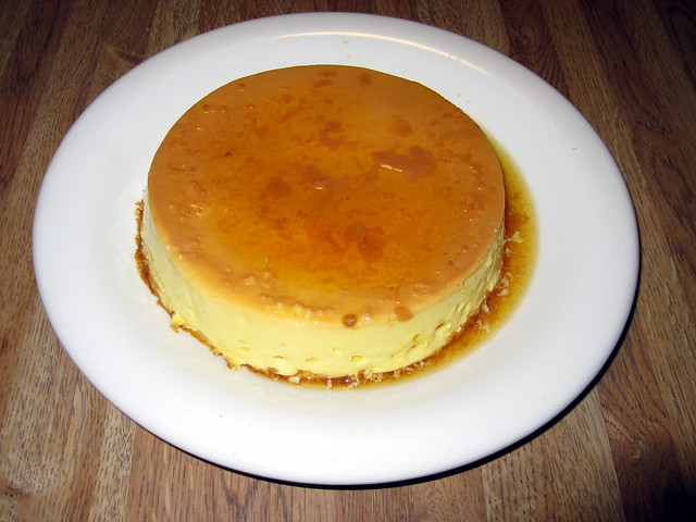 Orange flan | Flickr - Photo Sharing!
