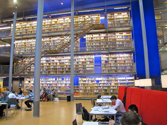 Tu Delft Library Reserve Room