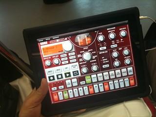 iPadで山手線DTM