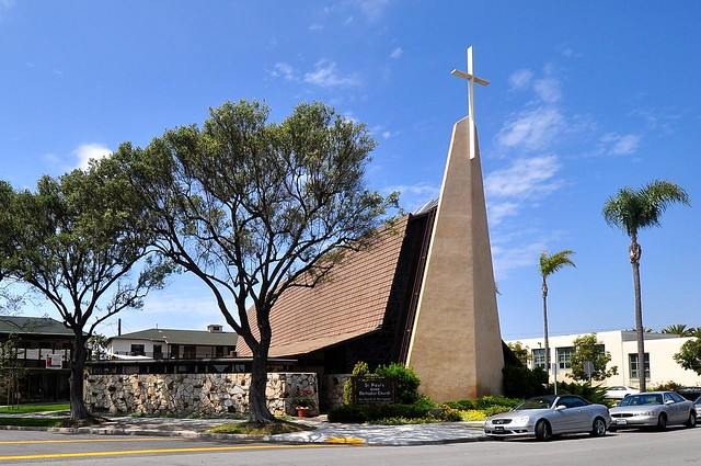 Mid-Century Modern Methodist Church