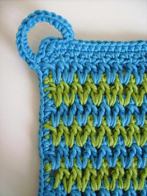 Zig Zag pot holder - PDF crochet pattern Flickr - Photo ...