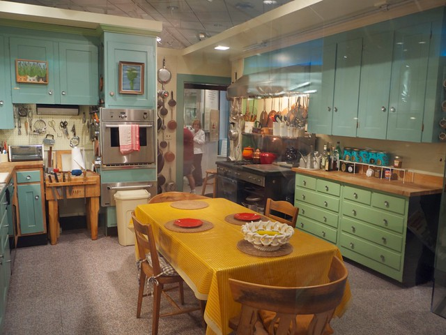 Julia Child's Kitchen at the Smithsonian from Flickr via Wylio