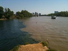 flood, reservoir, river, channel, waterway,