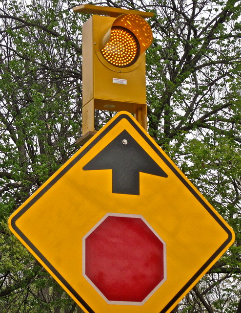 Stop ahead sign | Flickr - Photo Sharing!