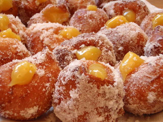 Lilikoi malasadas from Flickr via Wylio