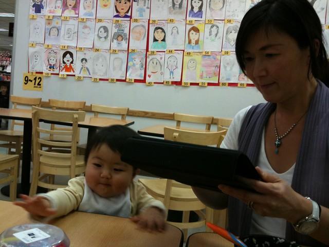 Photo:@akisan 嘘つき。iPadを占有中 By yoshinari