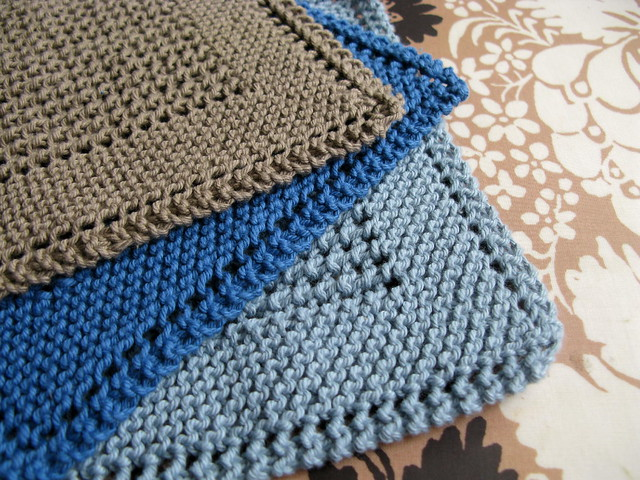 Free Diagonal Knit Dishcloth Pattern : Knitting Pattern For Dishcloth Patterns Gallery